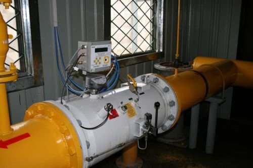 система учета расхода природного газа